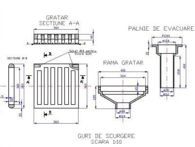 Guri de scurgere din fonta pentru poduri T1G1 400X400 MM CU PALNIE DE EVACUARE - Guri de scurgere din fonta pentru poduri T1G1 400X400 MM – CU PALNIE DE EVACUARE