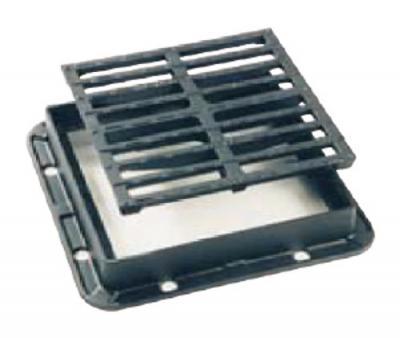 Dispozitiv de curgere Rama patrata cu gratar plat, GAIGHER fara balama C250, PI 360 C250
